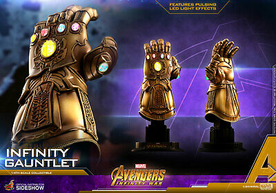 Marvel Legends Thanos Infinity Gauntlet Mood Lamp Glowing Stones OFFICIAL Decor!