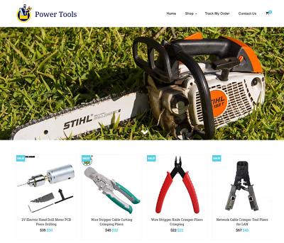 Power Tools Turnkey Website BUSINESS For Sale - Profitable DropShipping