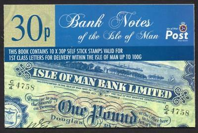 ISLE of MAN 2008 MNH Bank Notes Booklet