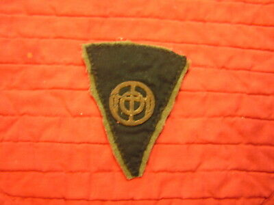 83Rd  Div  Wwi  Patch Exceptionally Rare Gold Bullion
