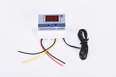 220V 10A Digital LED Temperature Controller XH-W3001 For Cooling Heating Swit EV
