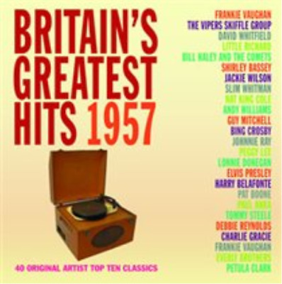 Various Artists-Britiain's Greatest Hits 1957 (UK IMPORT) CD NEW