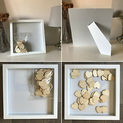 Drop Frame Guest Book for Wedding Birthday Parties Celebrations Anniversary