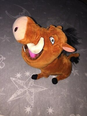 Lion King - 30cm Pumbaa Rare Soft Plush Toy! (OFFICIAL DISNEY)