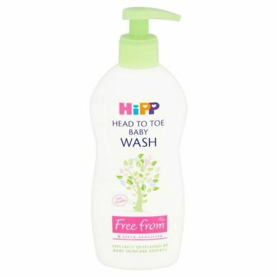 4x HiPP Head to Toe Wash 400ml