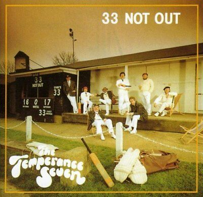 Temperance Seven - 33 Not Out [CD]