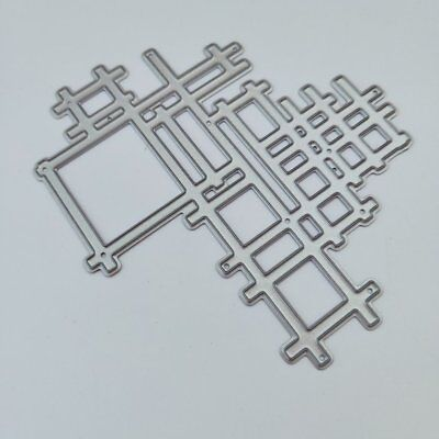 DIY Album Card Making Tool Puzzle Carbon Steel Knife Mold NEW O A QA