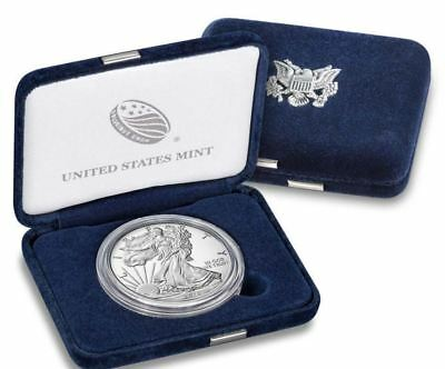 2018 W American Eagle One Ounce SILVER PROOF Coin West Point 1 Oz Box & COA