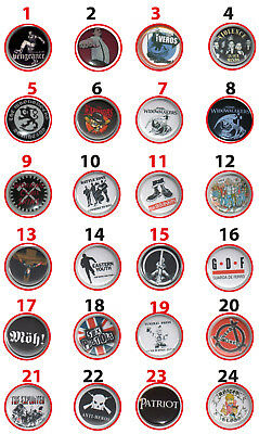 "SKIN ""BUTTONS"" Oi!/Skinhead/Punk/Way of Life/Möh!/Bands/Teil 8/Boots and Braces"