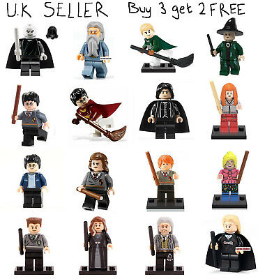 Harry Potter Minifigure Wizard Magic Hogwarts School of Witchcraft Mini Figure