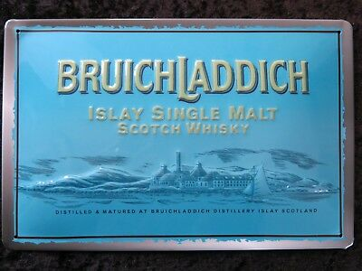 Bruichladdich , Blechschild Scotch Whisky Islay