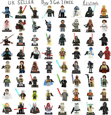 Star Wars Minifigure Rogue One Freemakers Clone Wars Rebels Mini Figure Starwars