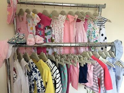 Beautiful Collection/bundle Of Baby Girls Summer Clothing 0-3 Months