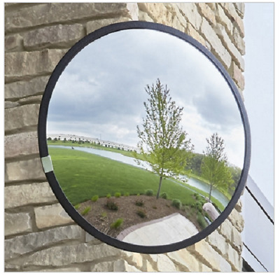 "New Uline Convex Mirror - 18"" Outdoor H-1307-O Security"