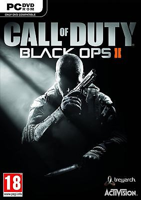 Call of Duty Black Ops II 2 PC New and Sealed
