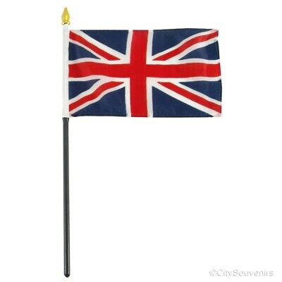 Union Jack Flag (Small) - British Souvenir Party Event Collectible Travel Gift