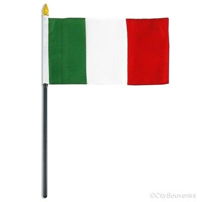 Italy Flag (Small) - Italian Souvenir Party Event Collectible Travel Gift