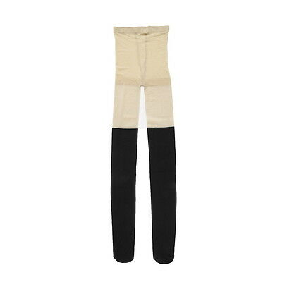 New Black Mixed Colors Ribbed Over Knee Tights Thigh High Pantyhose Socks GN