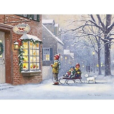 lang boxed classic christmas cards all i want for christmas art by paul landry