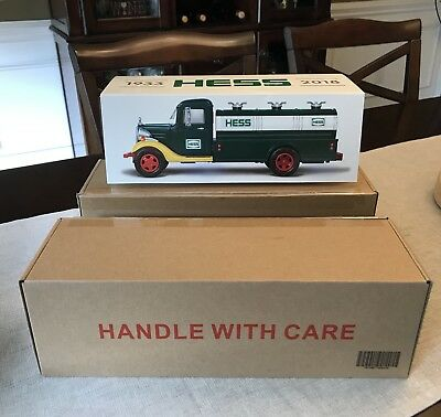 85th Anniversary 2018 HESS COLLECTORS EDITION 1st HESS TRUCK-Sold Out! NEW!