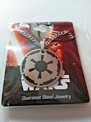 Star Wars Dark Side Necklace Licensed Stainless Steel Jewelry Brand NEW!