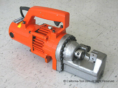 "Portable Electric Hydraulic 7/8"" #7 Rebar Cutter RC-227C New"