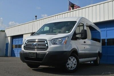 Ford Transit-350 XLT 350 Passenger Full Power Privacy Glass Passenger Step Rear View Cam Rear Parking Sensors &more