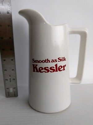"Kessler ""Smooth as Silk"" Liquor Bar Water Pitcher"