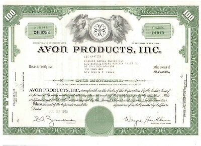 Avon Products Inc  1970