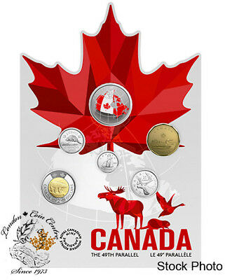 Canada 2018 From Far and Wide - Canadian Circulation 6-Coin Set