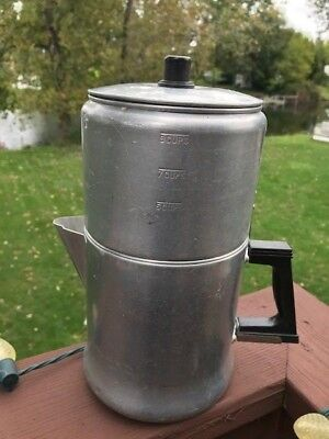 Drip Coffee Pot - Enterprise Drip O Later Drip Coffee Pot - 9 Cup Aluminum