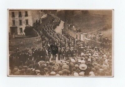 Guernsey,  Bramley ?  Rp Postcard, Funeral Of Governor 1911