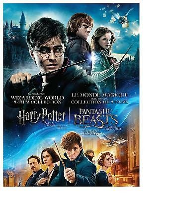 J.K. Rowling's Wizarding World 9-Film Collection:Harry Potter 8-Film Series(Bran