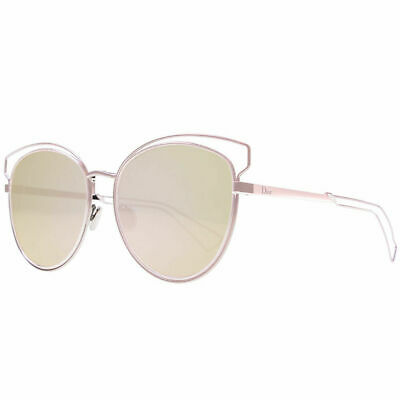 67e45ddae837 Dior Sideral 2/S JA0 0J Pink Metal Round Sunglasses Rose Gold lens