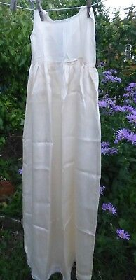 Exquisite vintage silk christening robe gown, from The White House London