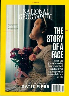National Geographic Magazine September 2018 ~ Guest Edited By Katie Piper ~ New