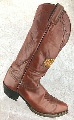 778b78d14d0 VINTAGE 60'S ERA EXOTIC LEATHER COWBOY WESTERN BOOTS MADE FT.WORTH ...