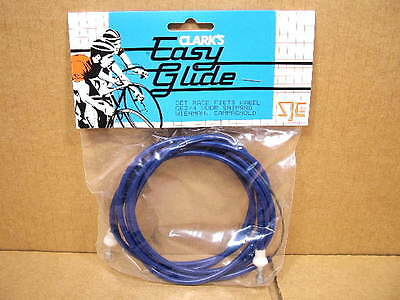 New-Old-Stock Clarks Brake Cable Set w/Dark Blue Cable Housing