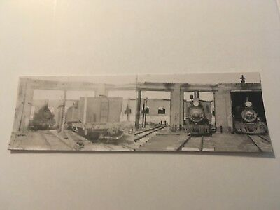 Vintage photo Sandy River Rangeley Lakes RR engine house Phillips ME 2nd view