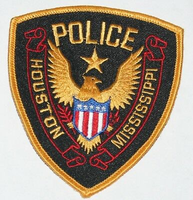 HOUSTON POLICE Mississippi MS PD patch