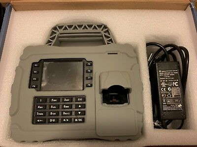 S-922 ZKteco Portable Terminal with Fingerprint & Proximity Reader with Keypad