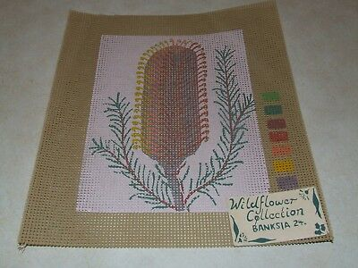 Tapestry Canvas - Wildflower Collection - Banksia - New