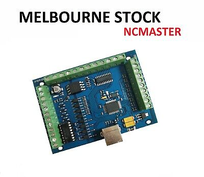 CNC 4-AXIS MACH3 USB Motion Controller Card Module For Carving