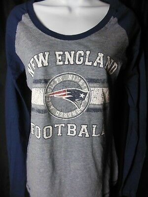 New England Patriots Women s Stone Wash Design Women s Long Sleeve Shirt ec182428c