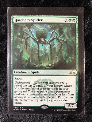 The Gathering MTG Guilds Of Ravnica Hatchery Spider X4 M//NM Magic