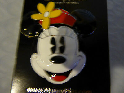 Disney Trading Pins 111977 DLP - Sculpted Minnie Head With Red Hat