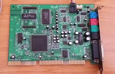 Creative Soundblaster AWE64 model CT4520 ISA