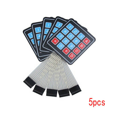 1/5 Pcs 16Key 4x4 Membrane Switch Keypad 4*4 Array Matrix keyboard for arduino-