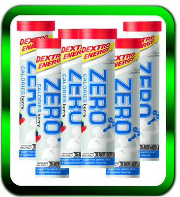 Dextro Energy Zero Calories  6x20 Tabletten | NEU Berry