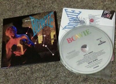 David Bowie – Let's Dance CD from the Loving the Alien box set